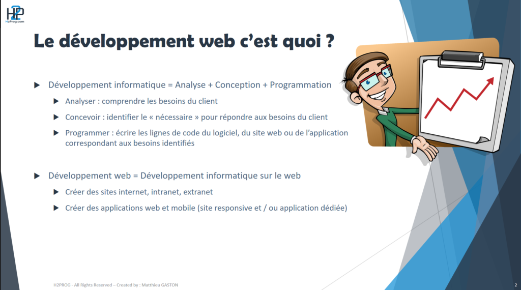 developpement web explication