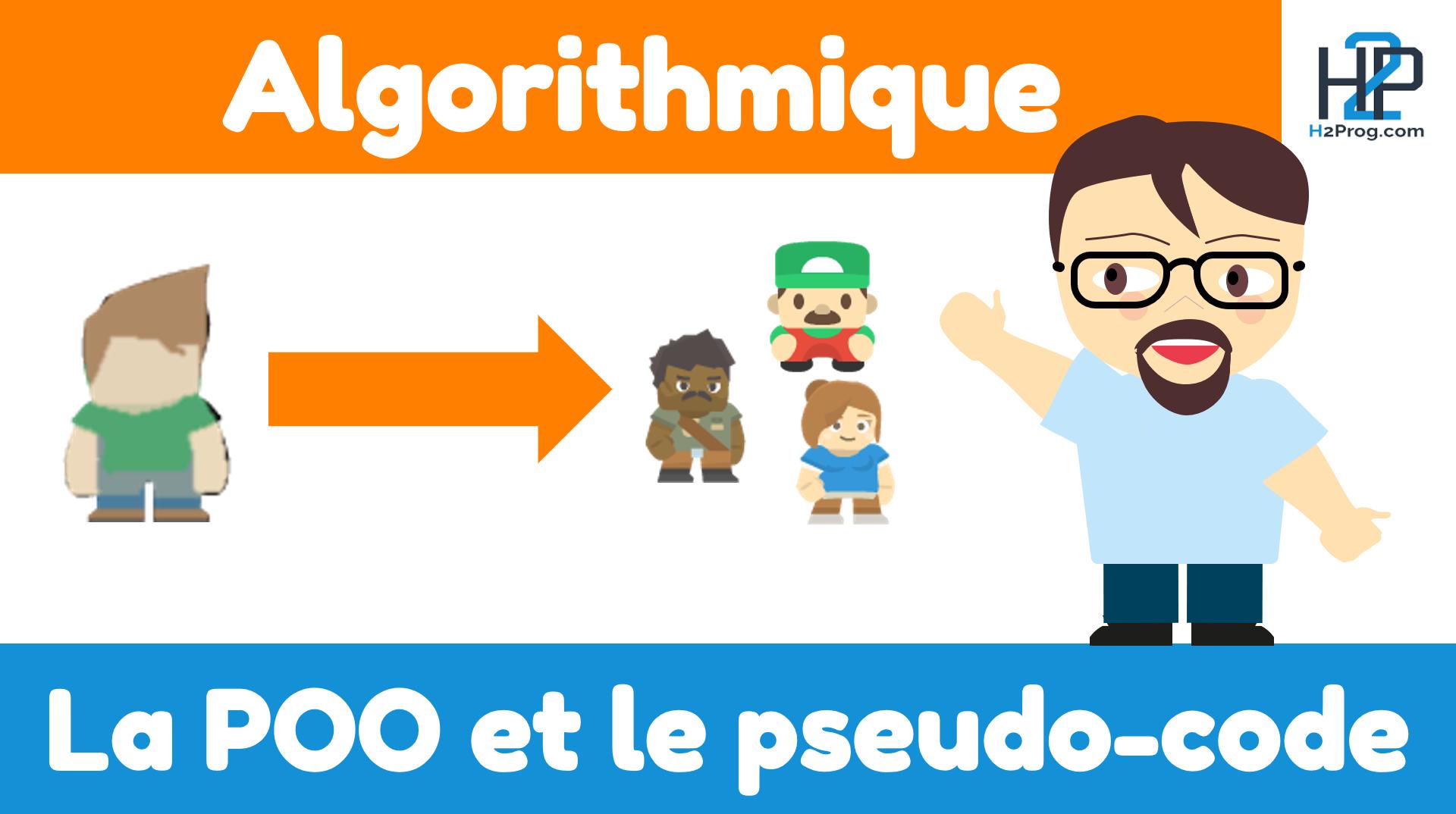 la POO et l'algorithmique