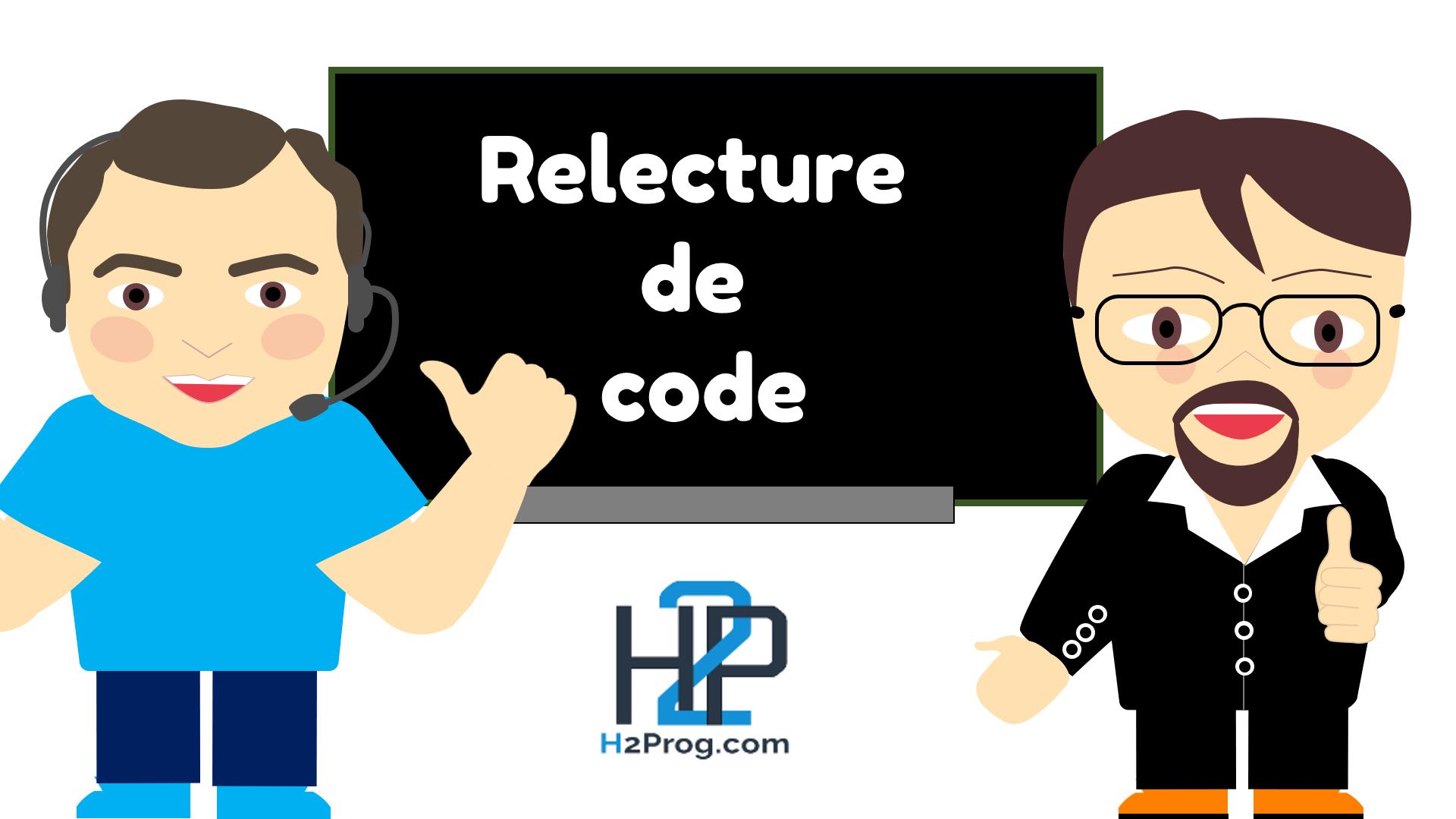 Relecture de code avec Jean-Marie