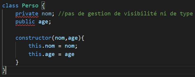 javascript class