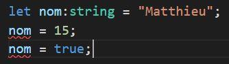 typescript variable